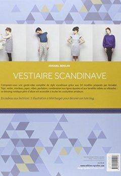 Livres Couvertures de Vestiaire scandinave: 24 modèles à coudre chics et essentiels. Patrons à taille réelle 36 à 42.