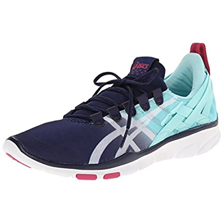 Sink into sublime comfort with the ASICS� GEL-Fit Sana� athletic shoe. This women's sneaker boasts Flexible Fit system technology so you can enjoy a secure and comfy, sock-like fit thanks to the stretch mesh and MONO-SOCK� upper construction. You'll ...