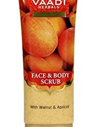 Vaadi Herbals Face Body Scrub with Walnut and Apricot, 110g @Rs. 67