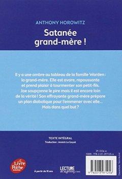 Livres Couvertures de Satanée grand-mère !