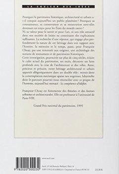 Livres Couvertures de L'Allégorie du patrimoine