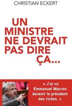 Livres Couvertures de Un ministre ne devrait pas dire ça
