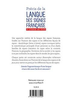 Livres Couvertures de Précis de la Langue des Signes Française : A l'usage de tous