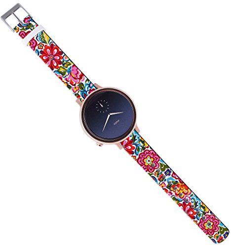 16Mm-Watch-StrapMoto-360-2nd-Gen-Band-Women-42Mm-with-Quick-Release-Pin-Red-Wonderful-Girly-Floral-Print