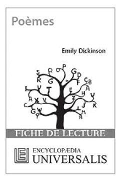 Livres Couvertures de Fiche de lecture Universalis. Poèmes d'Emily Dickinson