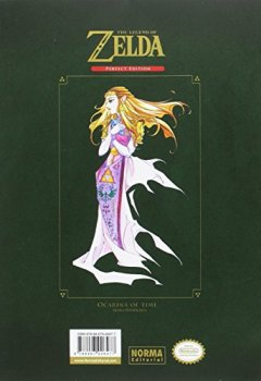Portada del libro deThe Legend of Zelda Perfect Edition: Ocarina of Time [secunda edicion]