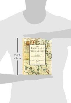 Buchdeckel von The Landmark Thucydides: A Comprehensive Guide to the Peloponnesian War