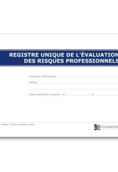 Livres Couvertures de Registre pré-rempli des risques professionnels - Document Unique