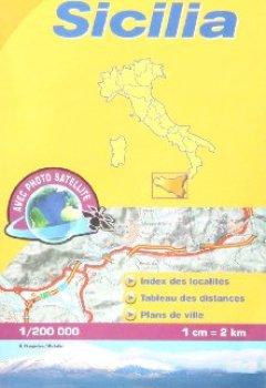 Livres Couvertures de Carte LOCALE Sicilia