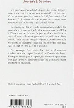 Livres Couvertures de Commander en opérations