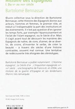 Livres Couvertures de Histoire des Espagnols (1)