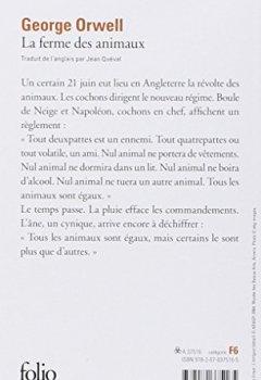Livres Couvertures de La ferme des animaux