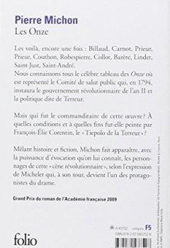 Livres Couvertures de Les onze - Grand Prix du Roman de l'Académie Française 2009