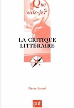 Livres Couvertures de La critique littéraire