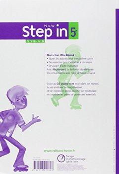 Livres Couvertures de Anglais 5e Palier 1 Niveau A1+/A2 New Step in : Workbook