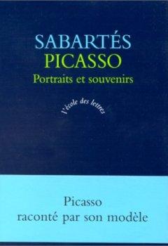 Livres Couvertures de Picasso : Portraits et Souvenirs