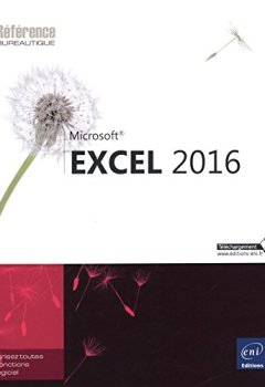 Livres Couvertures de Excel 2016