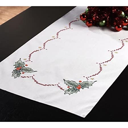 Holly Bells Table Runner