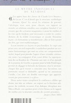 Livres Couvertures de Le mythe individuel du névrosé : Poésie et vérité dans la névrose