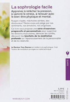 Livres Couvertures de La sophrologie facile: 30 exercices simples, relaxants et dynamisants