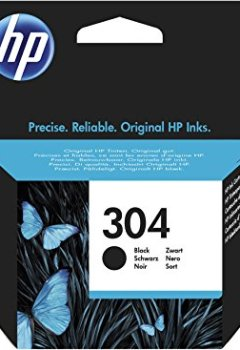 Livres Couvertures de HP 304 Original Black Ink Cartridge Capacity Standard
