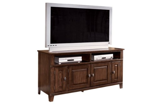 Image of Dark Brown 60 inch TV Stand (ASLYW442-38)
