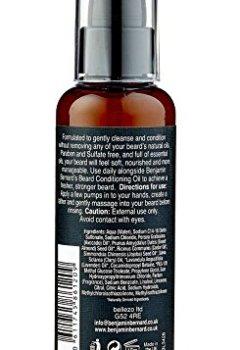 Livres Couvertures de Benjamin Bernard - Shampoing 2 en 1 pour barbe - shampoing et après-shampoing - huiles 100 % naturelles/sans sulfates ni parabènes - 100 ml