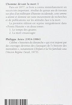 Livres Couvertures de L'homme devant la mort, tome 1