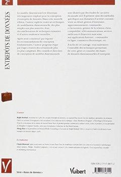 Livres Couvertures de Entrepôts de données. Guide pratique de modélisation dimensionnelle, 2ème édition