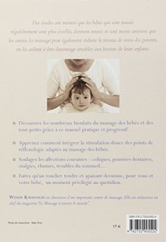 Livres Couvertures de Le massage des bébés