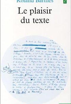 Livres Couvertures de Le plaisir du texte