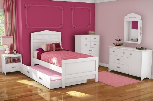 Image of Kids Bedroom Furniture Set 1 - Tiara - South Shore Furniture - 3650-BSET-1 (3650-BSET-1)