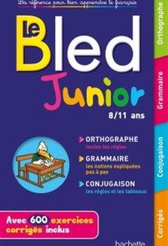 Livres Couvertures de BLED Junior 8-11 ans