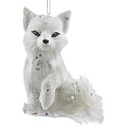 Christmas Decoration Inspiration White Christmas Ornaments