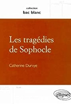 Livres Couvertures de Les tragédies de Sophocle