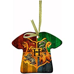 Harry Potter Personalized Christmas ornaments unique ceramic ornament shapes containing beautiful clothes hanging ribbons