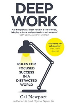 Livres Couvertures de Deep Work: Rules for Focused Success in a Distracted World (English Edition)