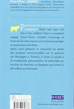 Livres Couvertures de Manifeste pour les animaux
