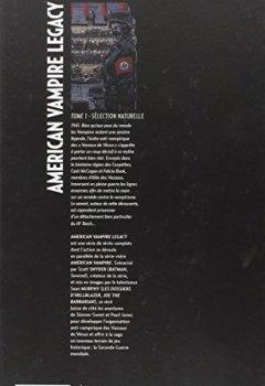 Livres Couvertures de American Vampire Legacy tome 1