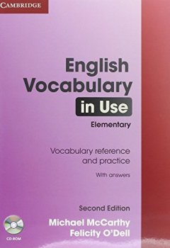 Livres Couvertures de English Vocabulary in Use - Elementary. Edition with answers and CD-ROM: Second Edition