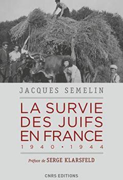 Livres Couvertures de La survie des Juifs en France 1940-1944