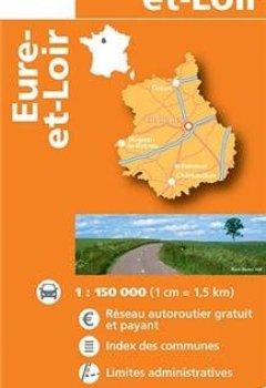 Livres Couvertures de D28 EURE-ET-LOIR  1/200.000