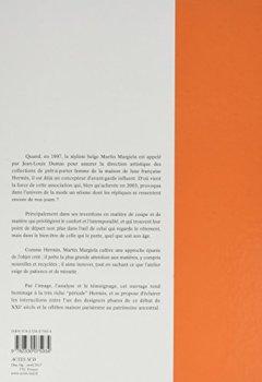 Livres Couvertures de Margiela, les années Hermès