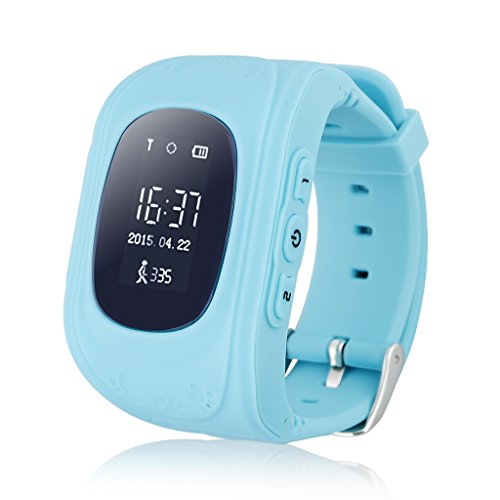 Excelvan Q50 - Smartwatch Reloj Infantil Pulsera Inteligente Localizador (GPS,...