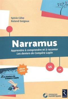 Livres Couvertures de Narramus : Les deniers de Compère Lapin (+ album et CD-Rom)
