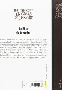 Livres Couvertures de LA BÊTE DU GÉVAUDAN