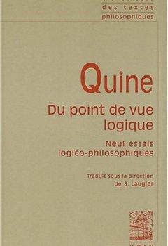 Livres Couvertures de Du point de vue logique : Neuf essais logico-philosophiques
