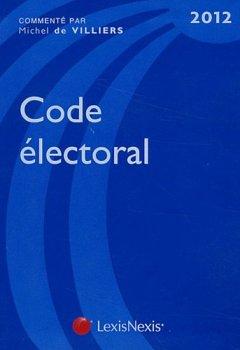 Livres Couvertures de Code électoral 2012
