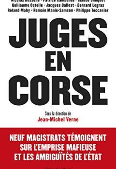 Livres Couvertures de Juges en Corse