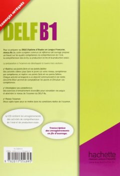 Livres Couvertures de DELF B1 + CD audio: DELF/DALF - DELF B1 + CD audio